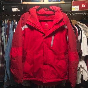 LL bean puffer jacket